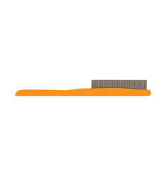 Hairbrush hair comb brush icon style isolated vector