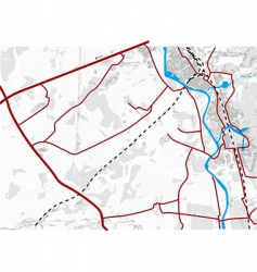 map vector image vector image