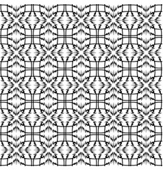 Pattern geometric seamless simple black vector