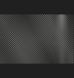 Perforated metal texture diamond shaped holes vector