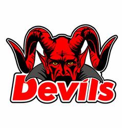 Devils vector
