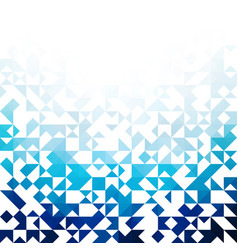 blue abstractioncomposed of blue triangle vector image