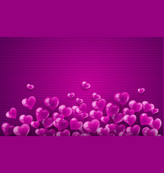 love background banner vector image vector image