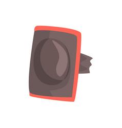 Protective elbow pad cartoon vector