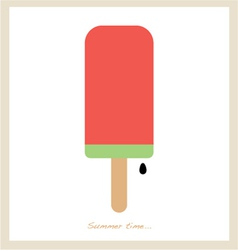 summer ice cream vector image vector image
