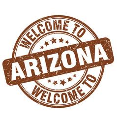 Welcome to arizona vector