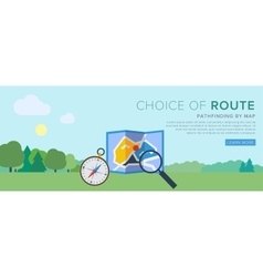 classic navigation vector image vector image