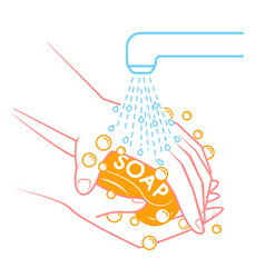 Concept of cleanliness hygiene vector