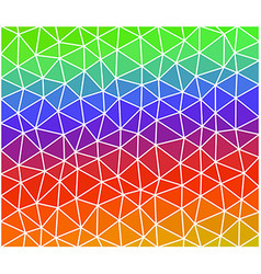 Multicolor geometric background consist of vector
