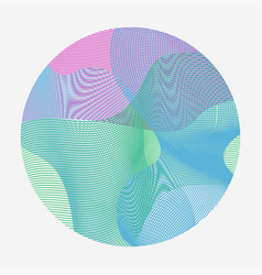 Abstract waves set of transparent wave vector