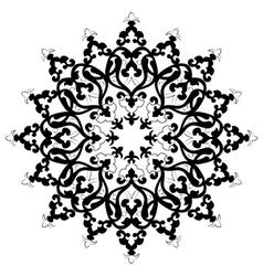 Antique ottoman turkish design three vector