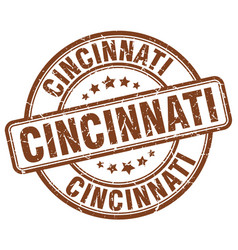 Cincinnati stamp vector