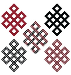 Endless knot vector image