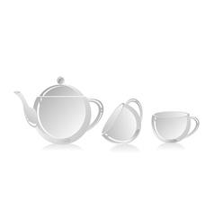 tea-things vector image