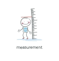 Measurement of growth vector
