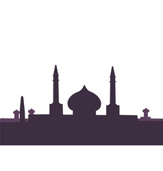arabic architecture vector image