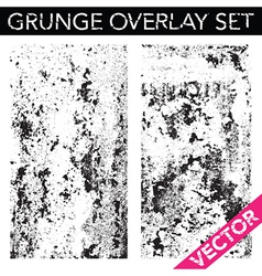 Grunge overlay vector