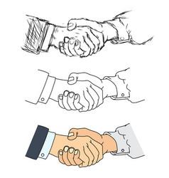handshake - vector image