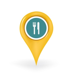 Restaurant Location vector image