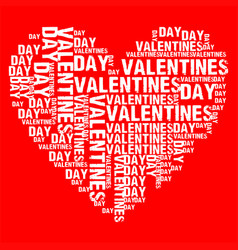 Valentines day red bg vector