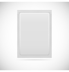 Aluminum bag package vector