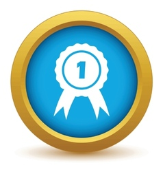 1st place icon vector