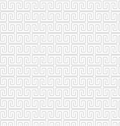 Slim gray square spirals fastened vector