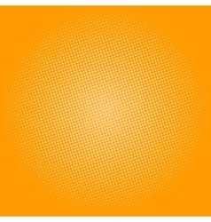 Dots on yellow background pop art background vector