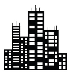 Black city vector