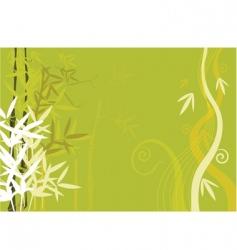 floral designed vector image vector image