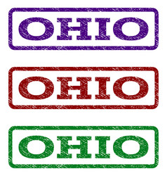 Ohio watermark stamp vector