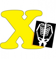 X is for x ray vector
