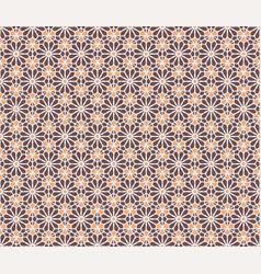Hexagonal geometric pattern vector