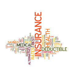 Medical insurance rate why does it change and how vector