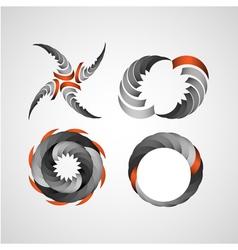 Business design elements set vector