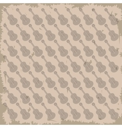 Guitar pattern background image vector