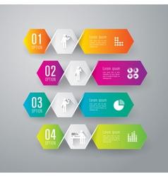 Infographics design vector image