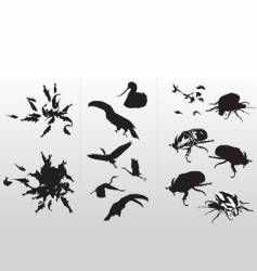 Silo animal vector