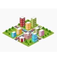 City skyscraper vector