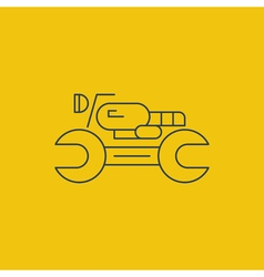 Check up icons diagnostics concept vector