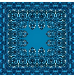 Decorative abstract square pattern vector