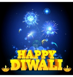 Diwali Night vector image vector image