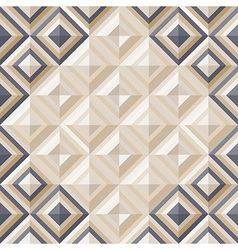 Fashion geometrical pattern with diamonds vector image