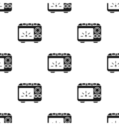Power supply tattoo icon black single tattoo icon vector