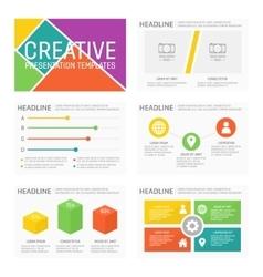 template for multipurpose presentation vector image