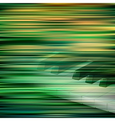 abstract green blur background with piano keys vector image