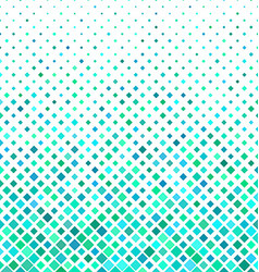 Cyan square pattern background design vector