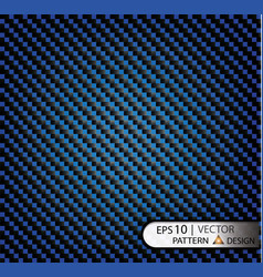 Pattern seamless carbon fiber blue under vector