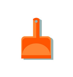 scoop cleaning icon vector image