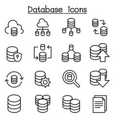 Server database hosting sharing cloud computing vector